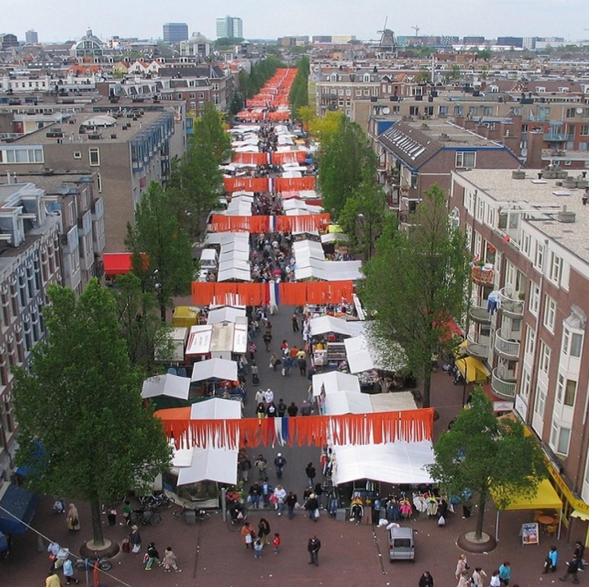 Dappermarkt….. een bezoekje waard